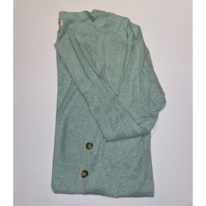 Mossimo Mint Green Cardigan